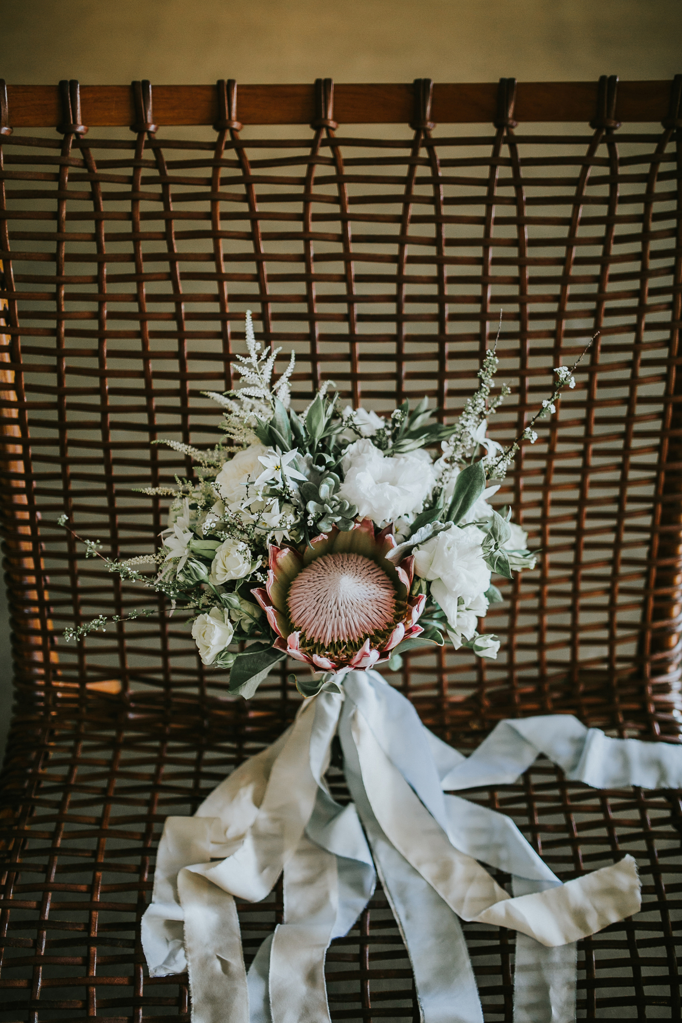 Modern Honolulu Hotel Wedding Bouquet