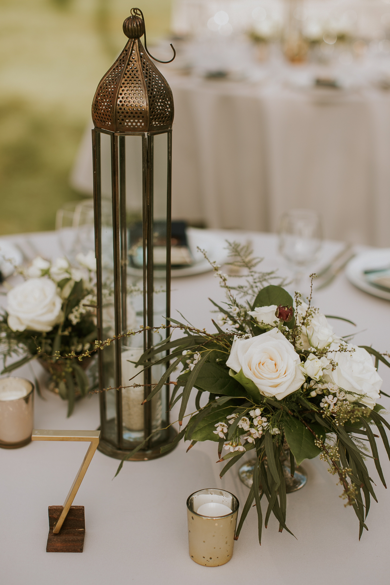 Lanikuhonua Phase 2 Wedding Hawaii Reception Table Decor