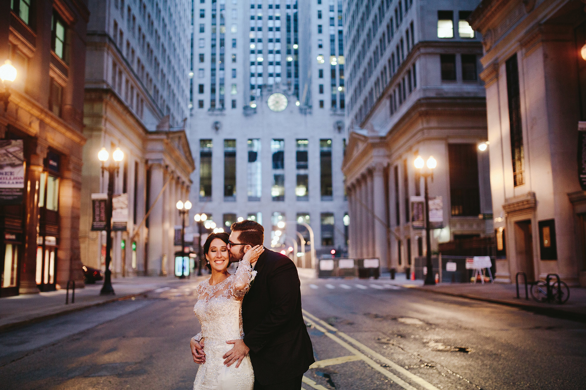 Downtown Chicago Rookery Building Wedding