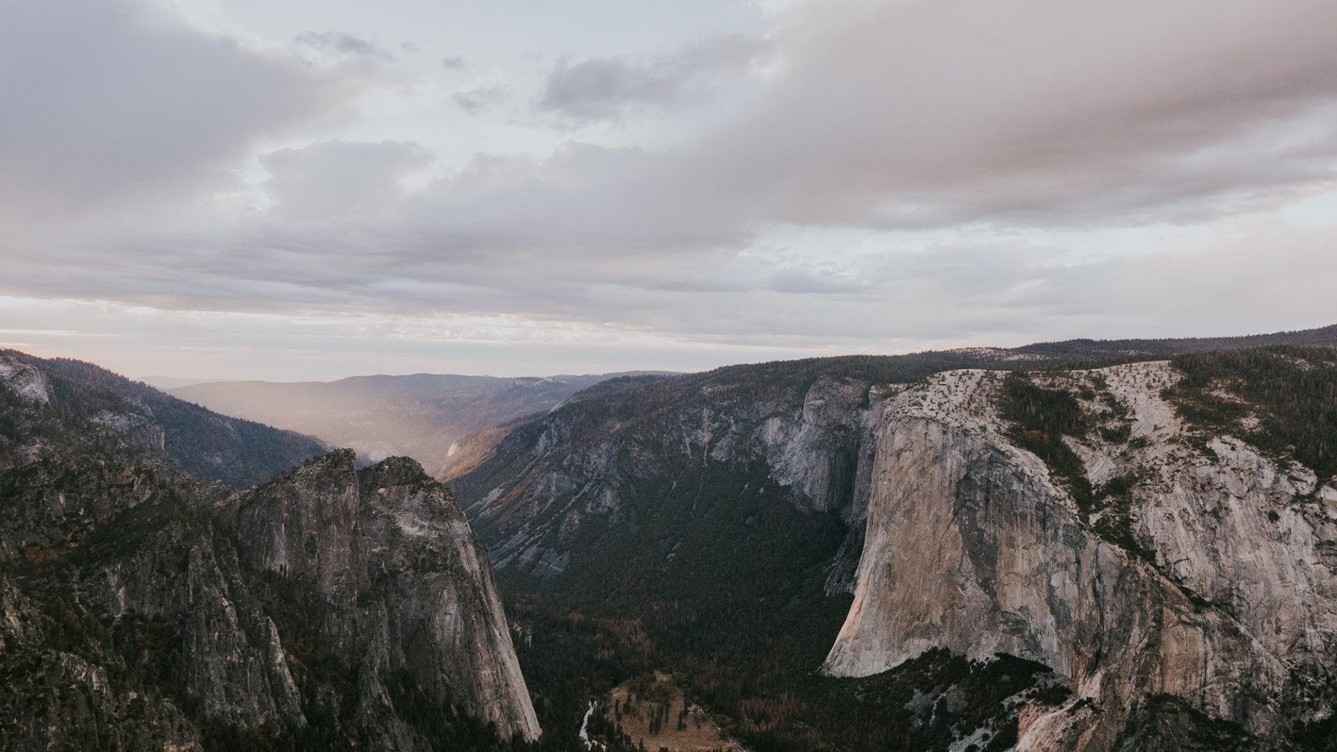 Sunset Yosemite Elopement Wedding Taft Point Half Dome Fall