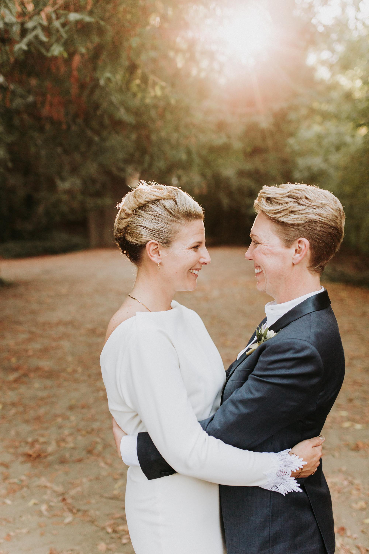 Guerneville Campground Same Sex Wedding