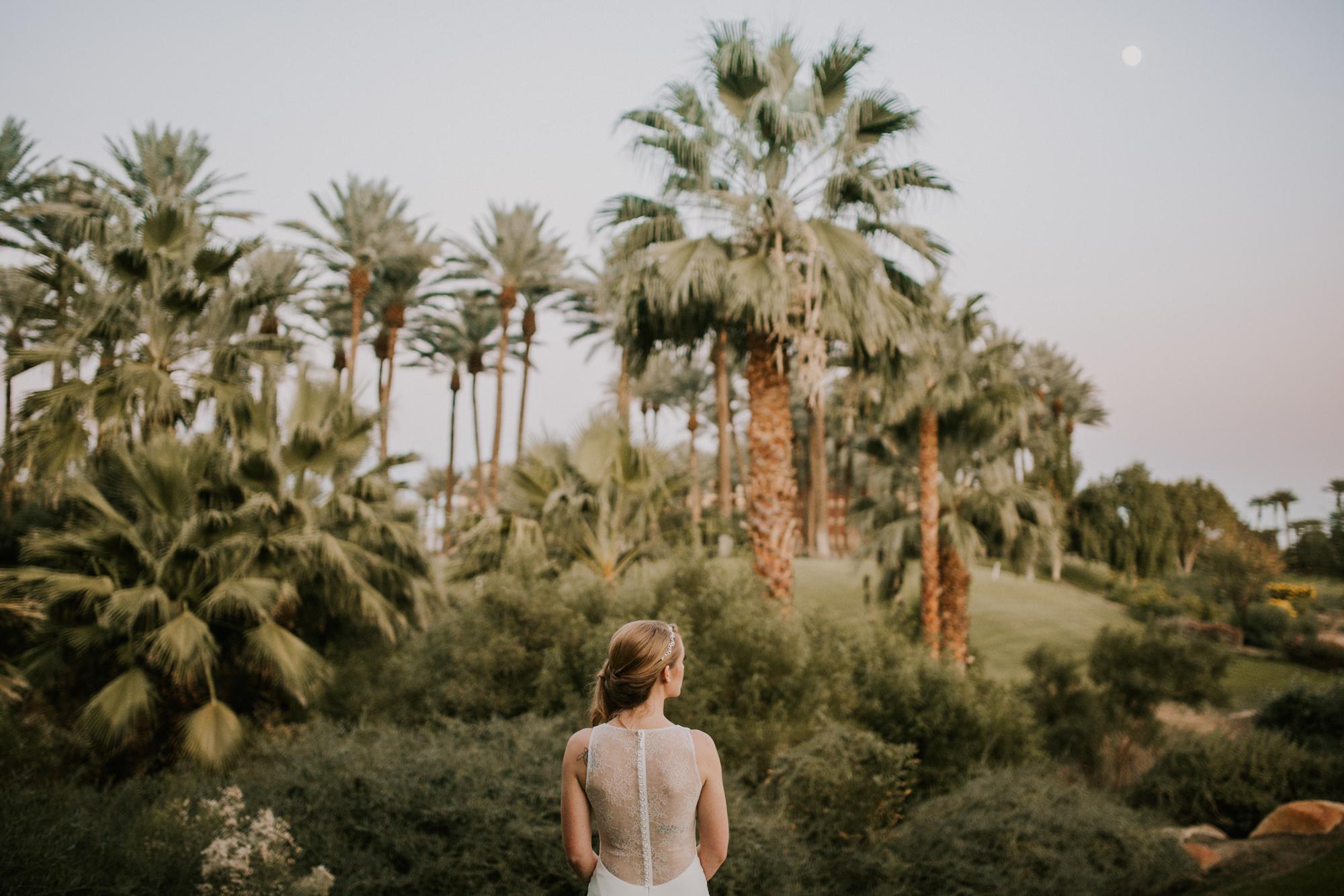 Hyatt Indian Wells Desert Wedding