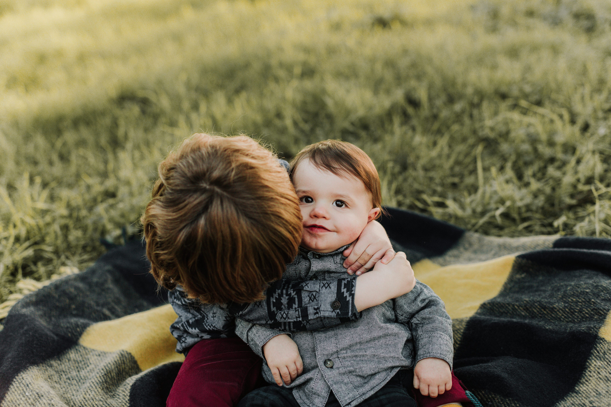 Lands End Fall Family Session