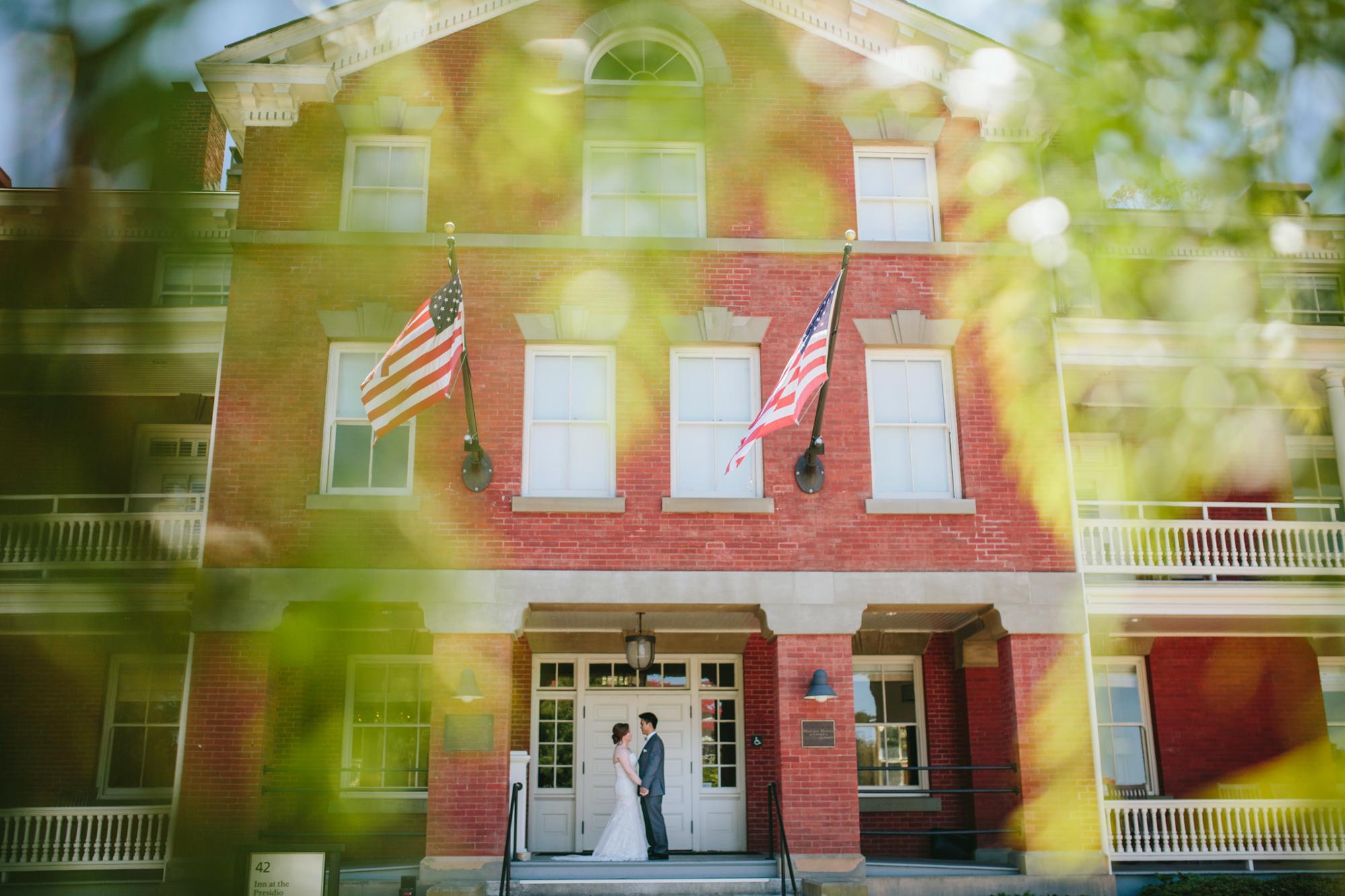 SF Presidio Observation Post Wedding