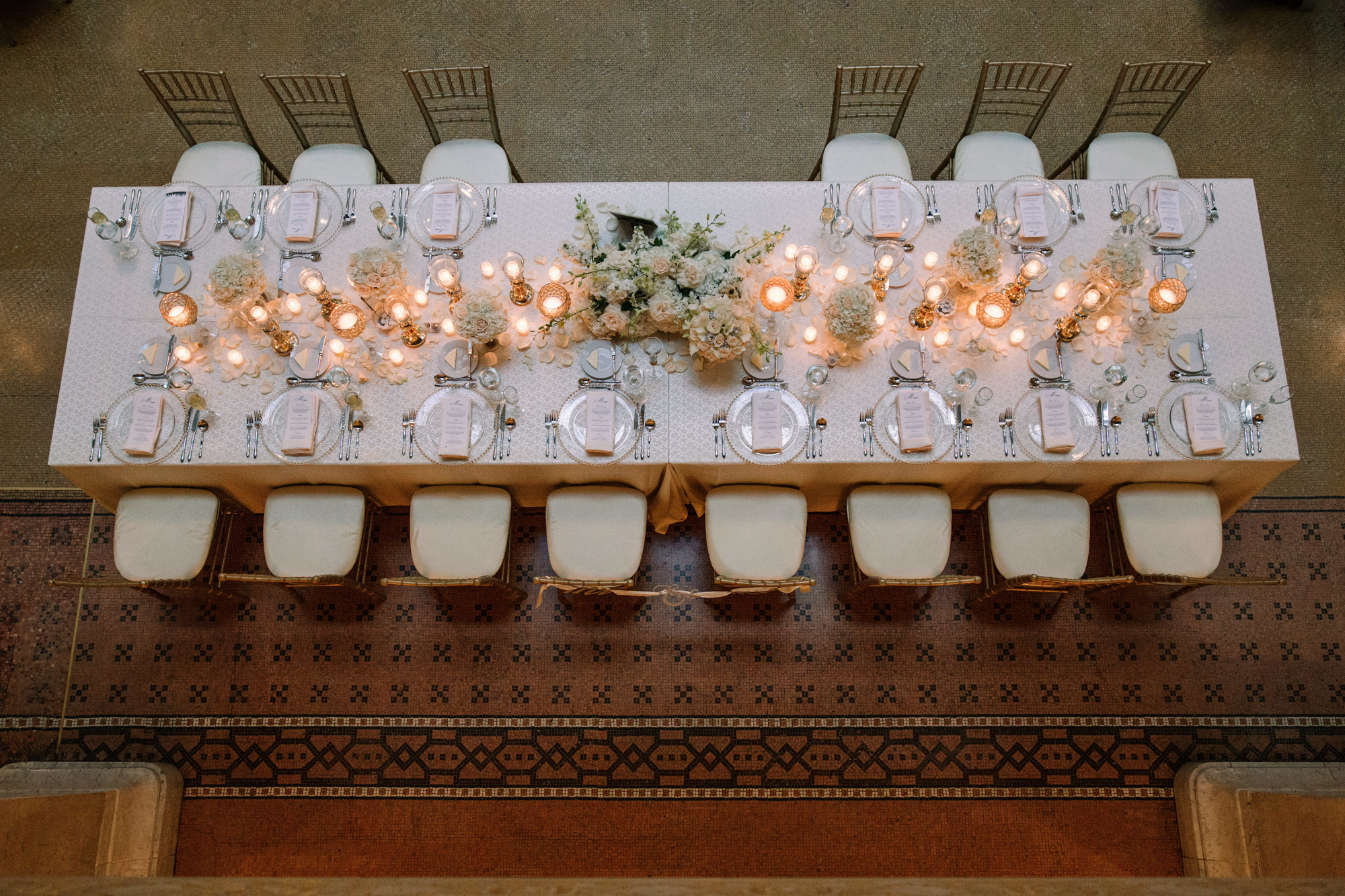 The Rookery Chicago Greek Wedding