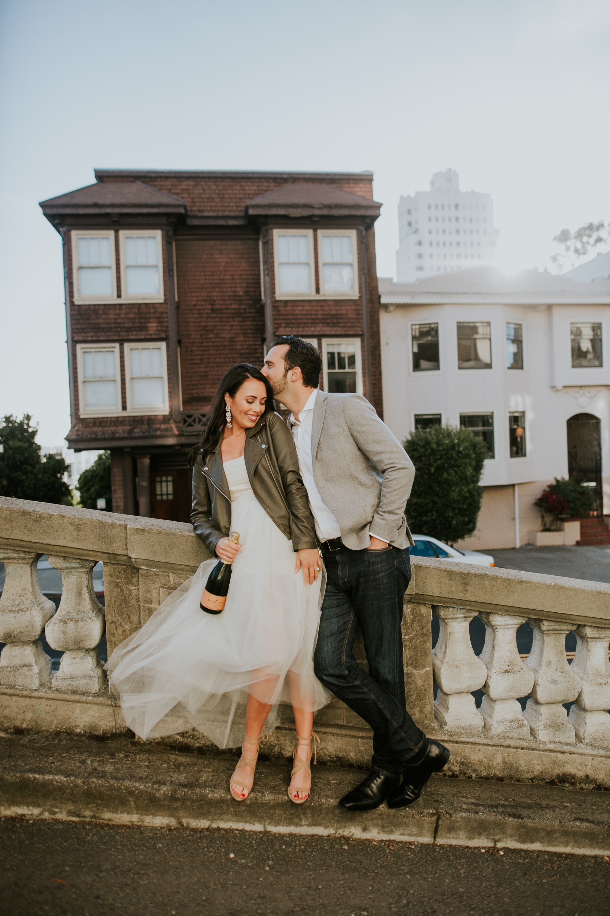 Russian Hill Engagement Session