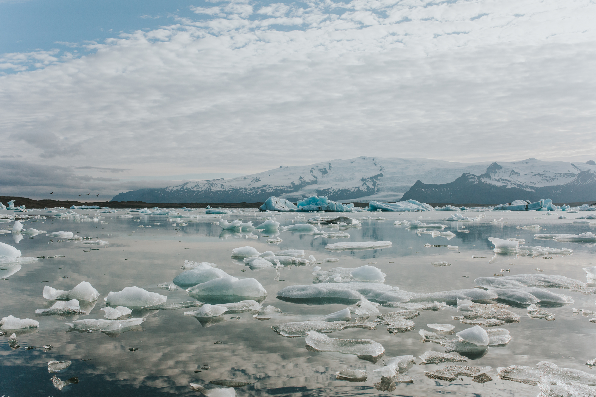 Iceland Jokulsarlon Glacier Engagement Session